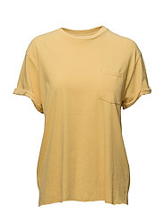 SLOUCHY CREW - FADED YELLOW