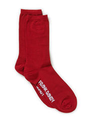 Bamboo Socks Solid - Red Ochre