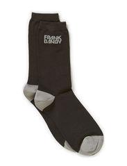 Bamboo Socks Blocks - Raven