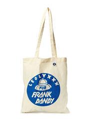 Leo Lyxxx Tote Bag - White