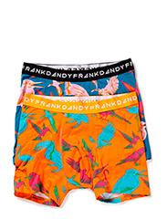 2p.Birds Boxer - Blue/Yellow