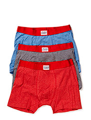 3p.Legend Melange Boxer - Red/Blue/Grey