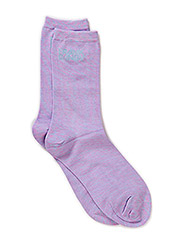 Bamboo Socks Solid - Space Coral