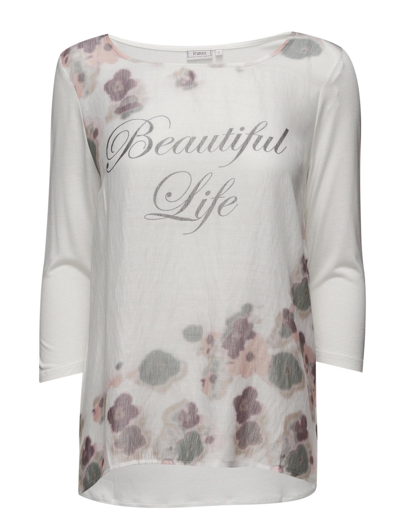 Rigrow 1 T-Shirt Fransa Langærmede til Damer i Antik