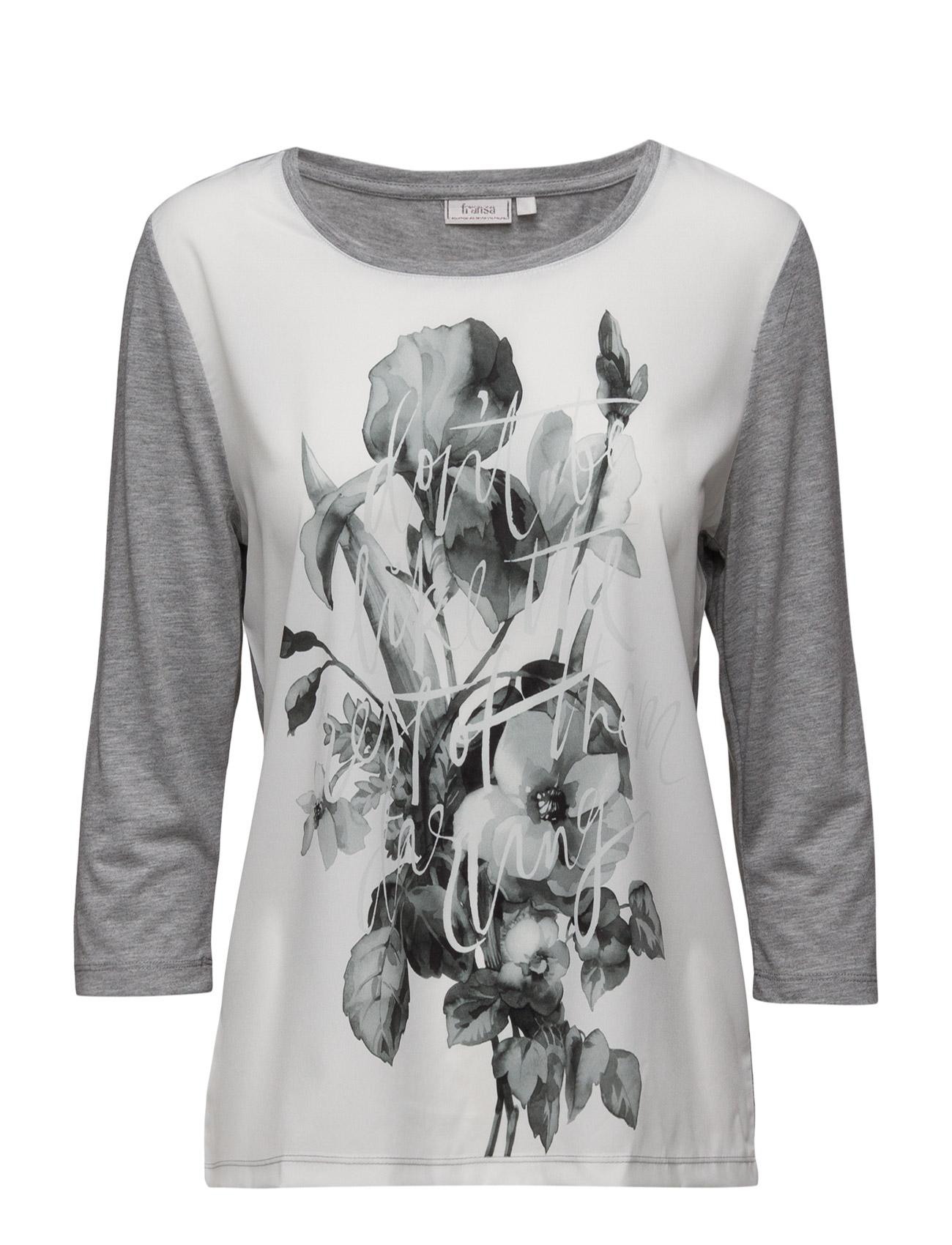 Riflower 1 T-Shirt Fransa Langærmede til Damer i
