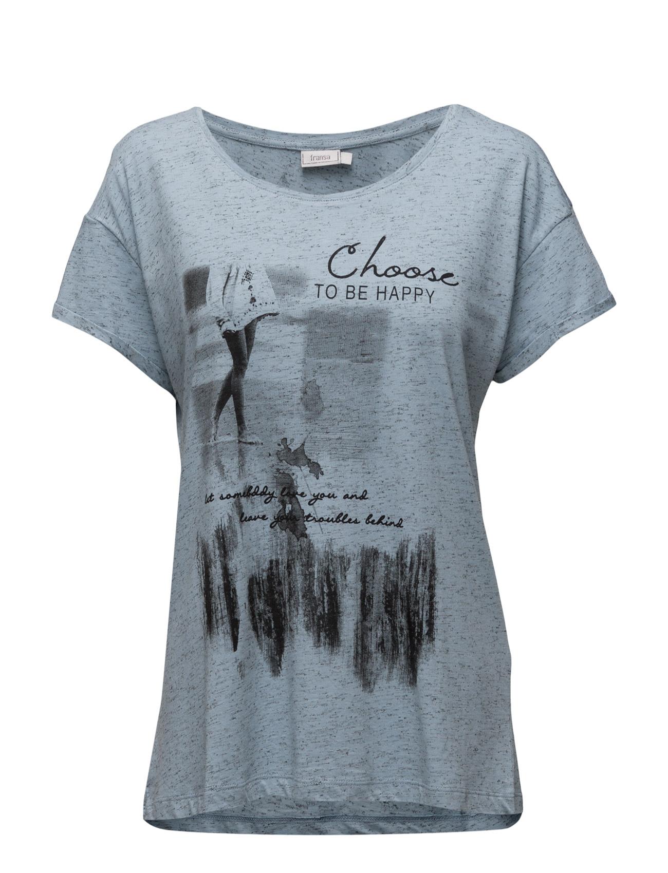 Ceshine 1 T-Shirt Fransa Kortærmede til Kvinder i Antique Mix