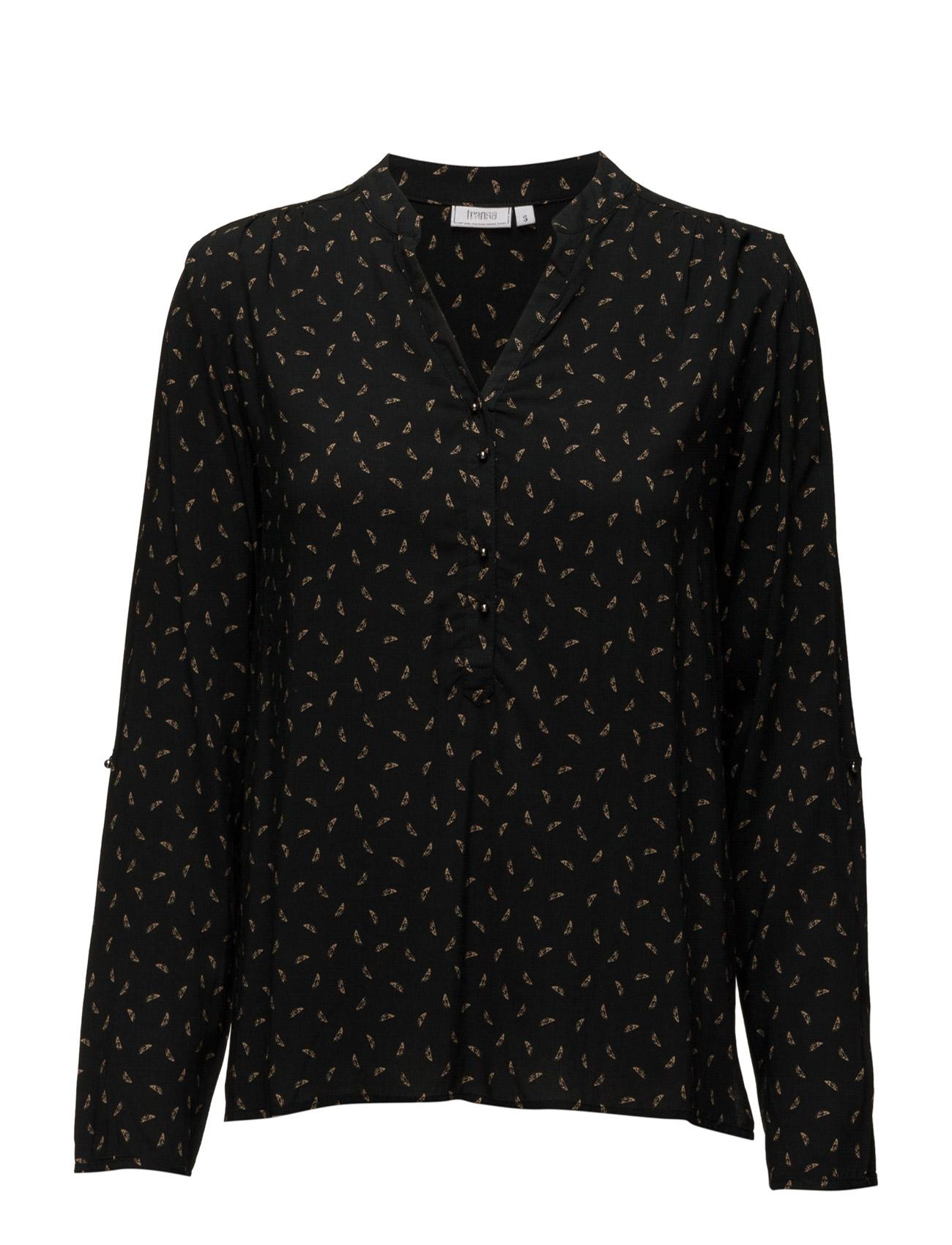 Davinci 1 Shirt Fransa Langærmede til Kvinder i Mørk Peacoat Mix
