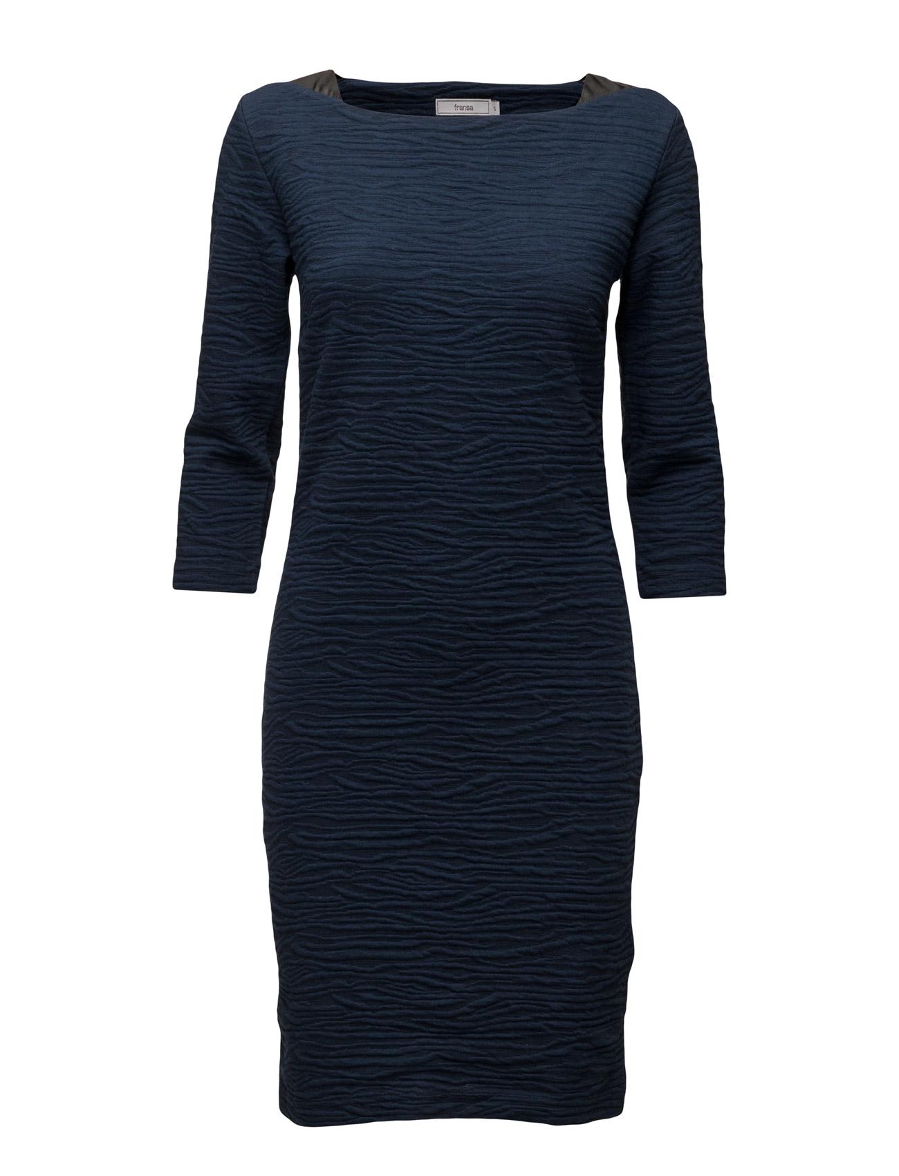 Fitine 1 Dress Fransa Knælange & mellemlange til Kvinder i Black Iris Mix