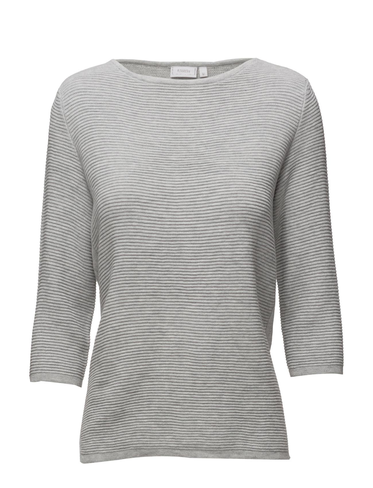 Zucot 1 Pullover Fransa T-shirts & toppe til Kvinder i Light Grey Melange