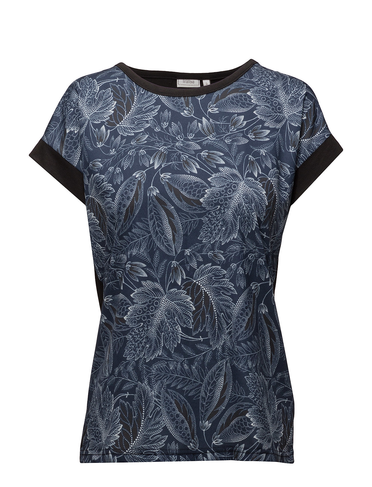 Imix 1 T-Shirt Fransa Kortærmede til Damer i Black Iris Mix