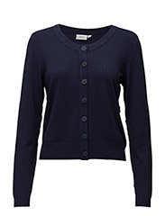 Zuvic 71 Cardigan - BLACK IRIS