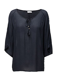 Cabutterfly 1 Blouse - DARK PEACOAT
