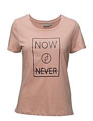 Jikam 1 T-shirt - MISTY ROSE