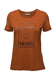 Jikam 1 T-shirt - UMBER