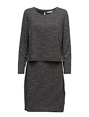Jiwater 1 Dress - ASPHALT GREY MELANGE