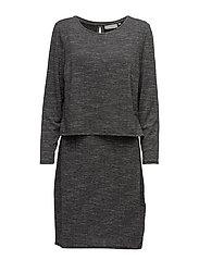 Jiwater 1 Dress - ASPHALT GREY MELANGE
