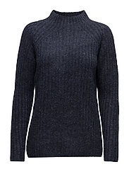 Jinew 1 Pullover - BLACK IRIS MELANGE