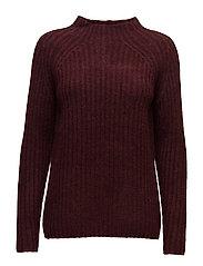 Jinew 1 Pullover - RUBY WINE MELANGE