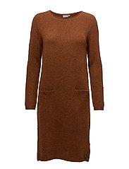 Jimella 1 Dress - UMBER MELANGE