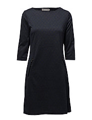Jivar 1 Dress - BLACK IRIS MIX