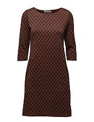 Jivar 1 Dress - UMBER MIX