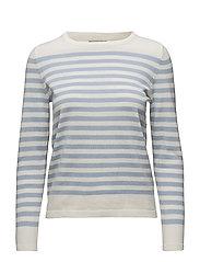 Mistripes 1 Pullover - BRUNNERA BLUE MIX