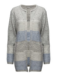 Mimouse 1 Cardigan - LIGHT GREY MELANGE MIX