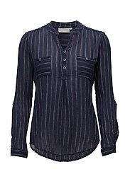 Mastripe 1 shirt - BLACK IRIS MIX