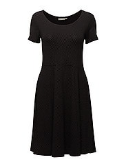 Nidotto 1 Dress - BLACK MIX