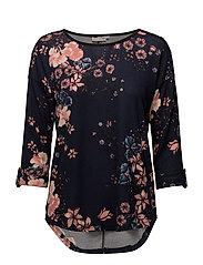 Misoflower 1 T-shirt - BLACK IRIS MIX
