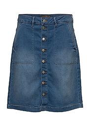 Otdenim 1 Skirt - SKYE BLUE DENIM