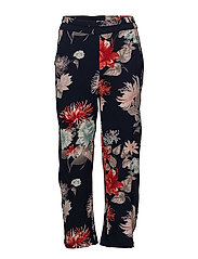 Osflower 3 Pants - BLACK IRIS MIX