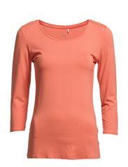 Kiksen 2 Tshirt - Coral Blush