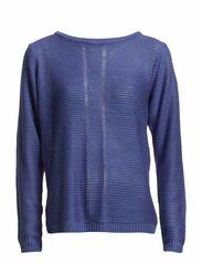 Ebstripe 1 Pullover - Azure