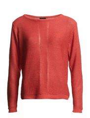 Ebstripe 1 Pullover - Dusty coral