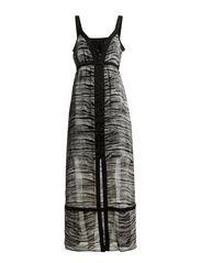 Fechif 1 Dress - Black mix