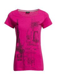 Ganice 1 T-shirt - Pink Flambe