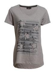 Gadot 1 T-shirt - Asphalt melange