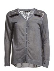 Gacardi 1 Cardigan - Grey Dawn