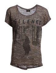 Gayork 2 T-shirt - Asphalt melange