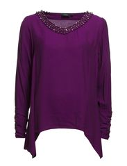 Iblace 2 Blouse - Beetroot