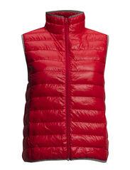 Jodown 1 Waistcoat - Poppy Red