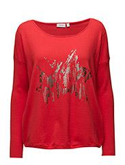 Zucotton 24 Pullover - Poppy Red