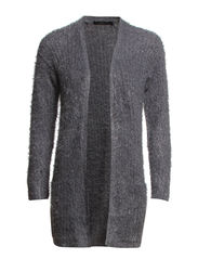Hesally 1 Cardigan - Soft grey
