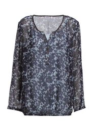 Japrint 1 Blouse - Cashmere Blue mix