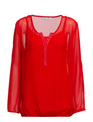 Japrint 1 Blouse - Poppy Red