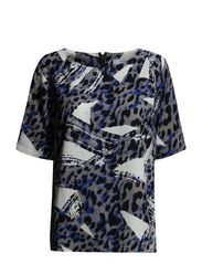 Jagraphic 2 Blouse - Jazz Blue mix
