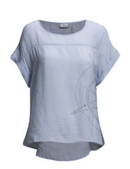 Leoile 1 Top - Cashmere Blue