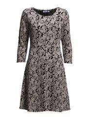 Latine 1 Dress - Tile Sand mix