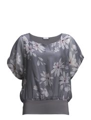 Lalady 1 Blouse - Cement grey mix
